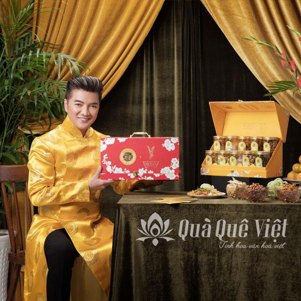 Bộ quà tết 2021 Thương Hiệu Mr Đàm, Phiên Bản Cao Cấp