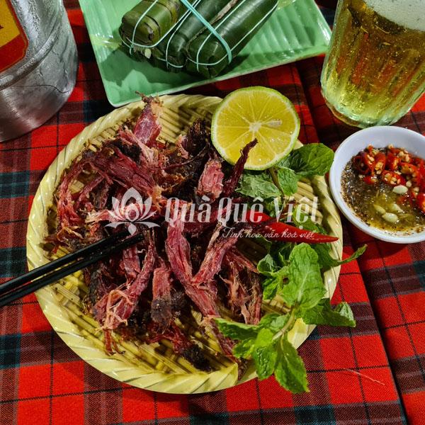 Thịt Trâu Gác Bếp Đặc Sản Miền Bắc 500gr