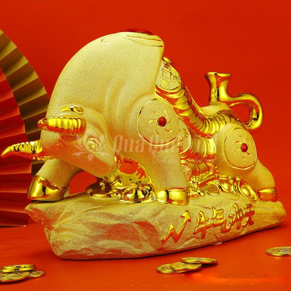 Trâu Vàng Ngọc Phong Thủy, Vật Phẩm Phong Thủy 2021